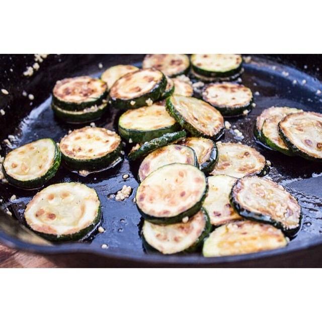 Garlic Sautéed Skillet Zucchini