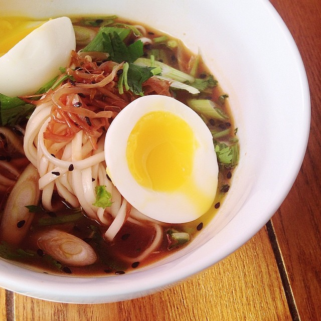 Udon In A Homemade Broth