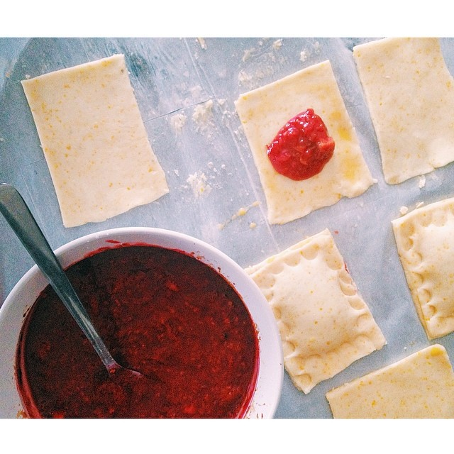 Gluten-free Rhubarb Raspberry Hand Pies