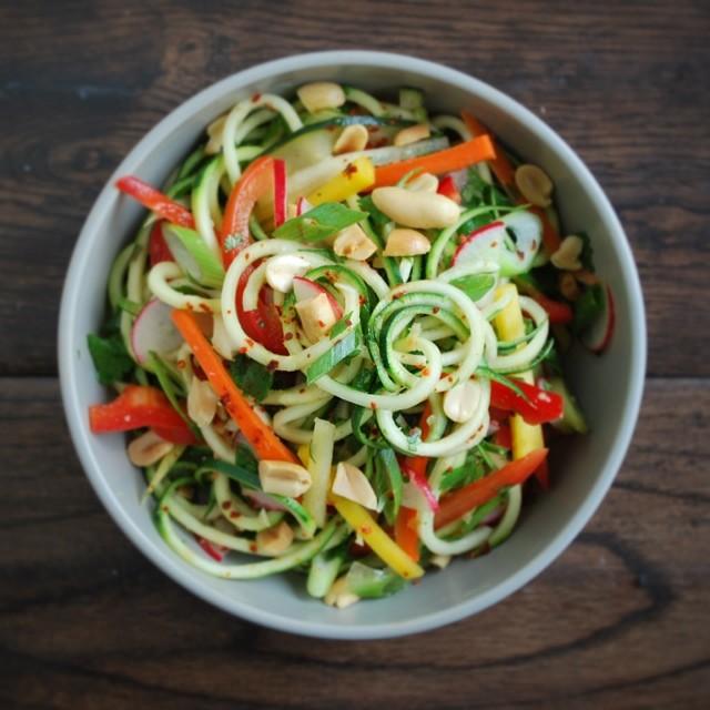 Vietnamese Zucchini Noodle Bowls