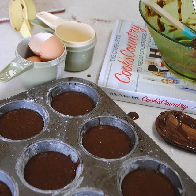 Chocolate Cream Cupcake Batter