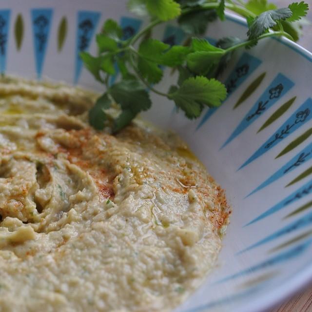 Lime & Cilantro Hummus