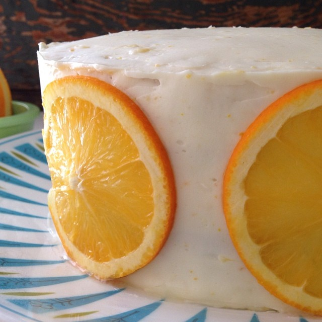 Ginger & Clementine Cake
