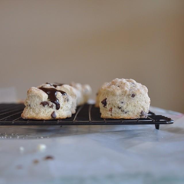 Dark Chocolate Scones
