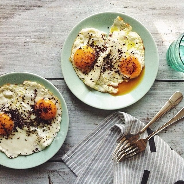 Eggs With A Sprinkle Of Sumac