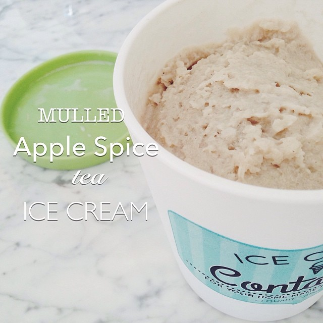 Mulled Apple Spice Tea Ice Cream