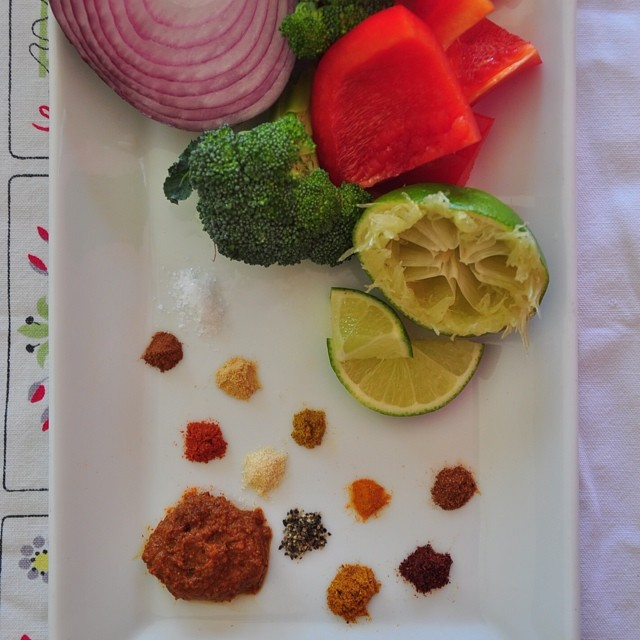 Curry Paste Prep