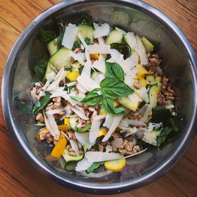 Summersquash And Farro Salad