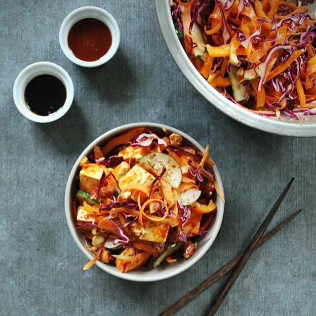 Crunchy Korean Cabbage Slaw