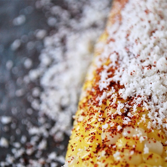 Roasted Corn With Chili, Lime, And Cojita