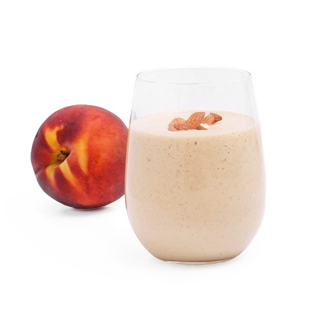 Peach And Almond Butter Smoothie