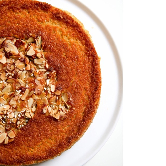 Almond Apricot Olive Oil Cake
