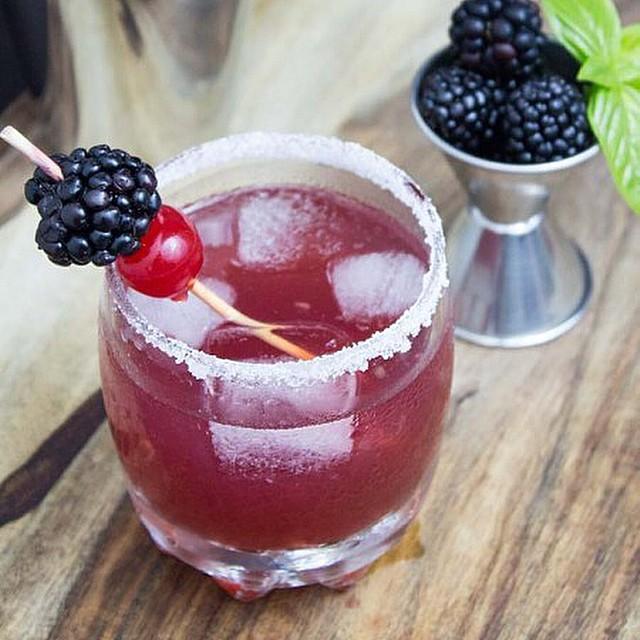 Blackberry Gin Punch