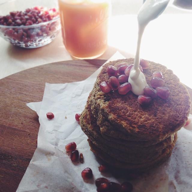 Petite Tower Buckwheat And Oats Pancake