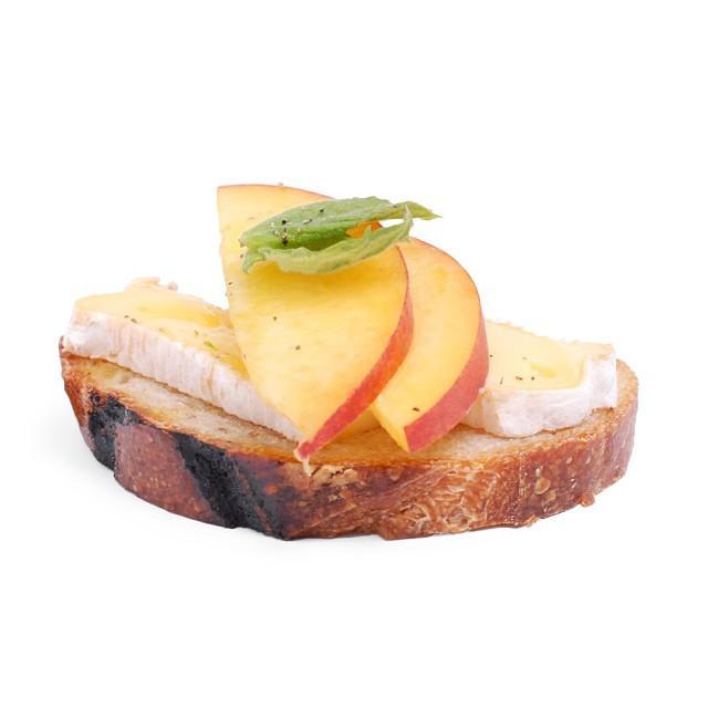 Peaches And Cheese Bites