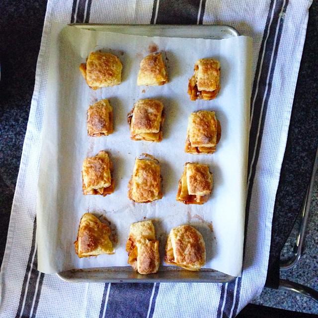 Apple Pie Buttermilk Biscuits