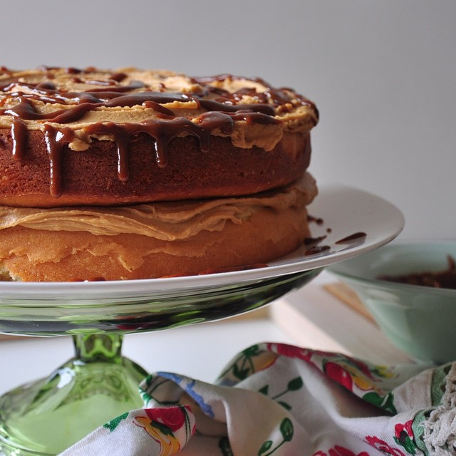 Toffee Frosting (and Caramel Drizzle) For Any Cake
