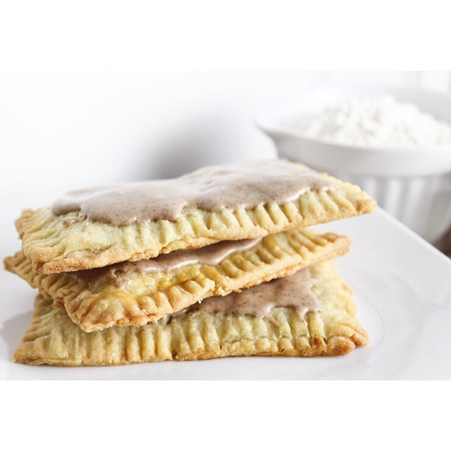 Homemade Pumpkin Spice Pop Tarts