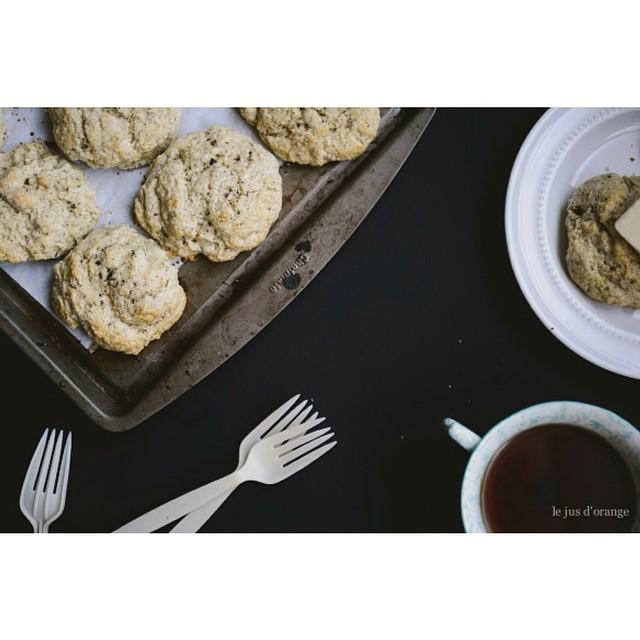 Earl Grey Tea Scones