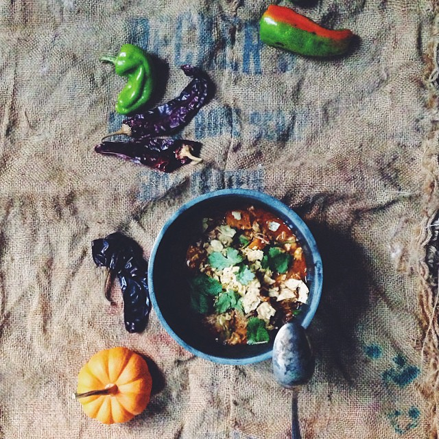 Spicy Pork & Buttercup Squash Posole