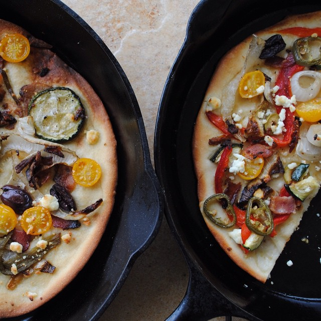 Traeger Grilled Flat Bread Pizza