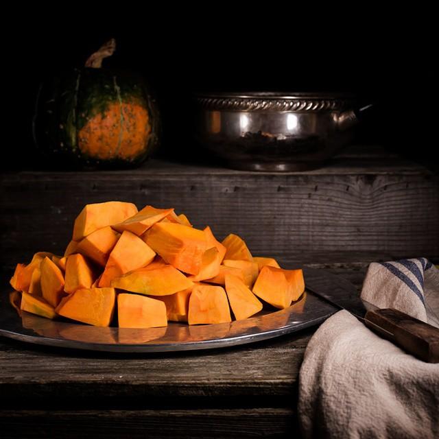 Chopped Pumpkins
