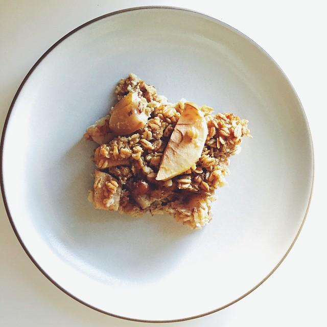 Apple And Pear Breakfast Bake