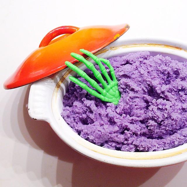 Purple Cauliflower Mash