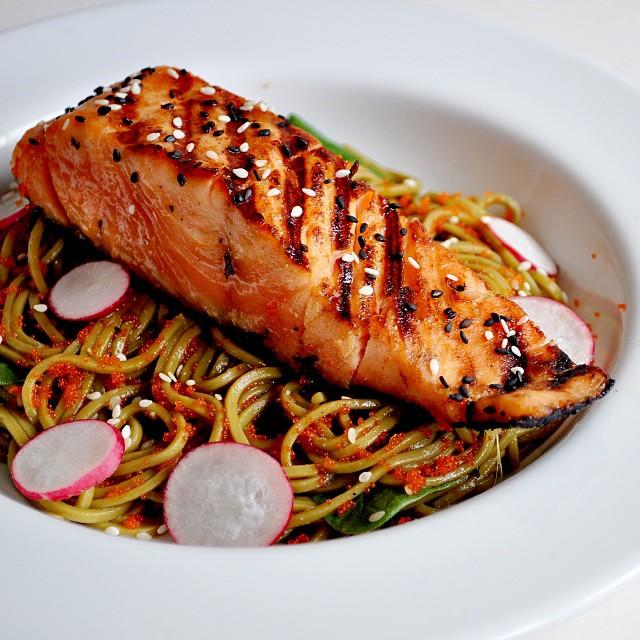 Miso Salmon & Soba