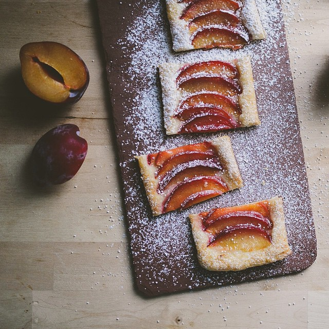 Honey Plum Tarts