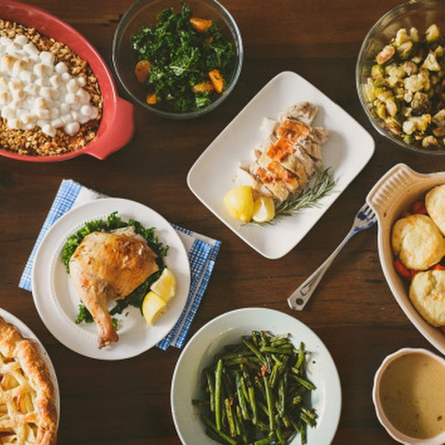 Chinese American Fusion Thanksgiving