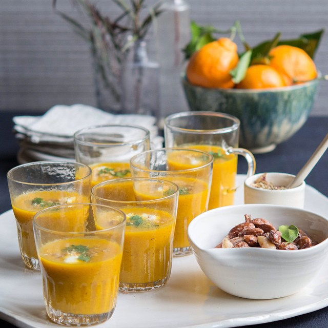 Winter Squash Spiced Soup
