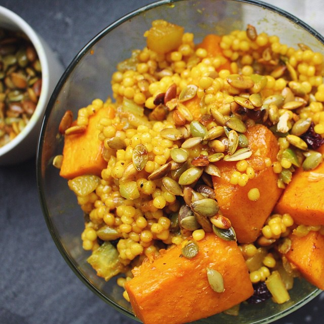 Fall Couscous With Butternut Squash