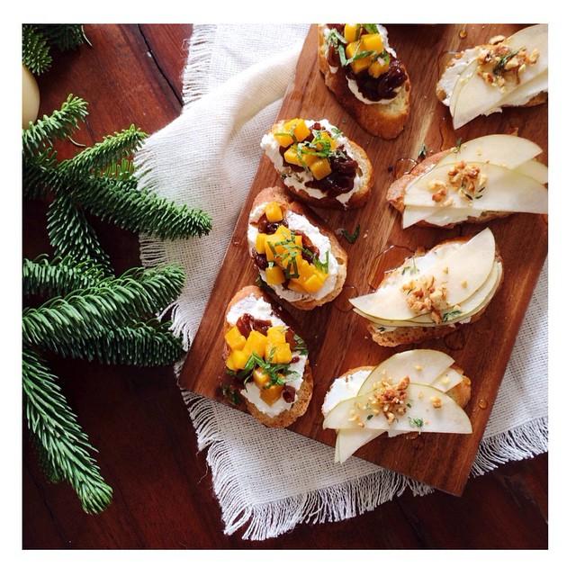 Holiday Crostini