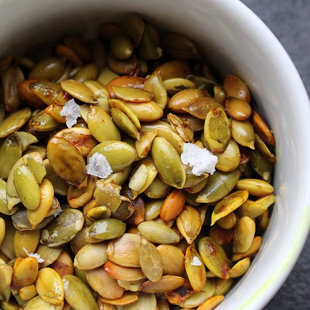 Sweet 'n Salty Pumpkin Seeds