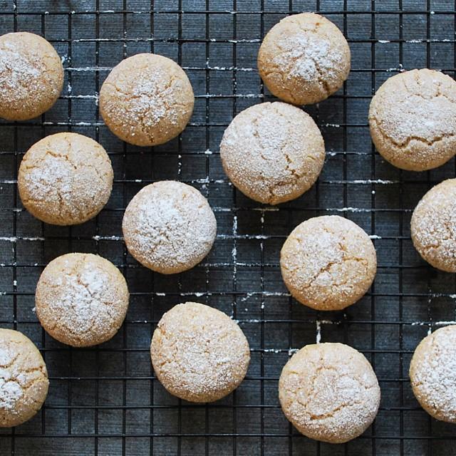 Almond-cardamom Cookies