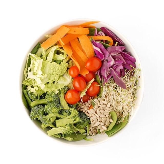 Spring Rainbow Salad
