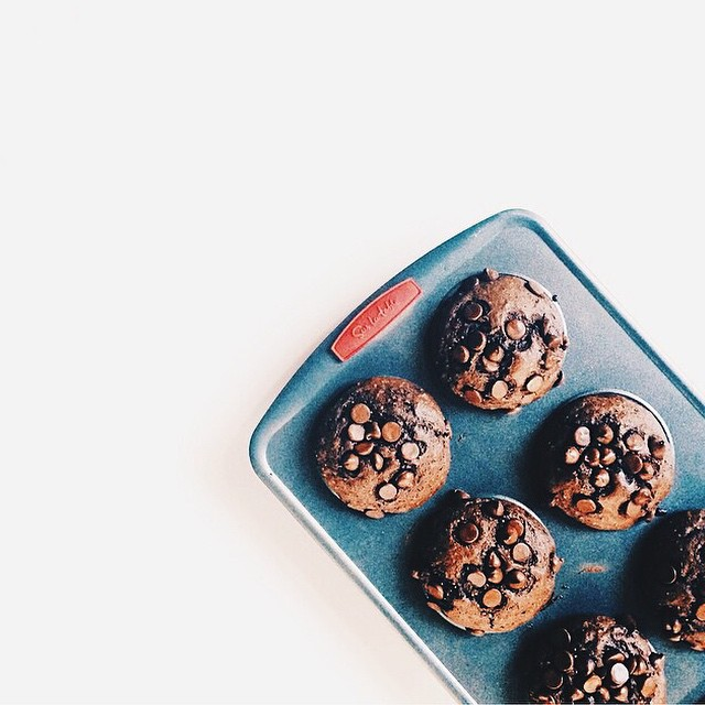 Extra Large Chocolate Muffins