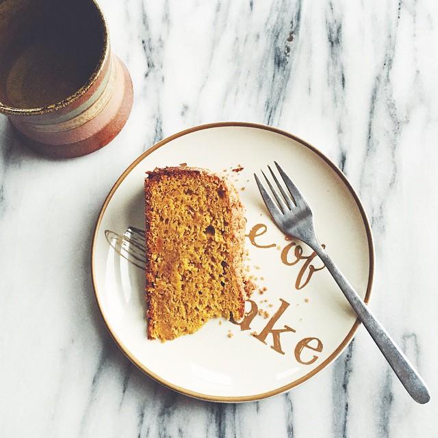 Winter Squash Coffee Cake