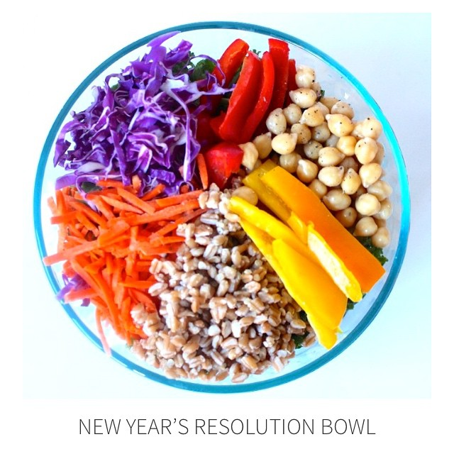 New Years Resolution Bowl