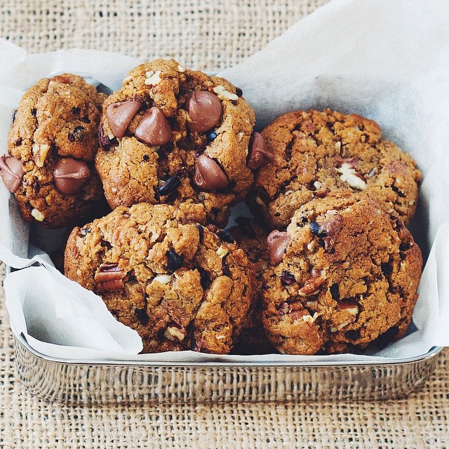 Peanut Butter Compost Cookies