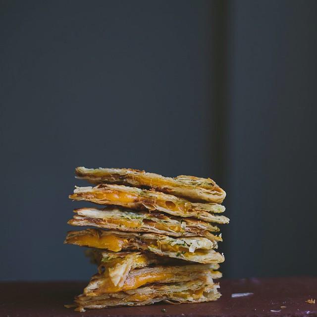Scallion Pancake Quesadilla