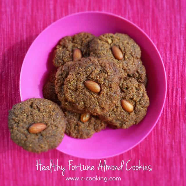 Healthy Fortune Almond Cookies
