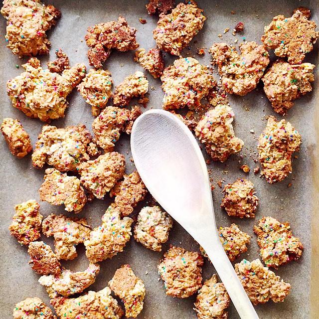 Funfetti Cookie Granola