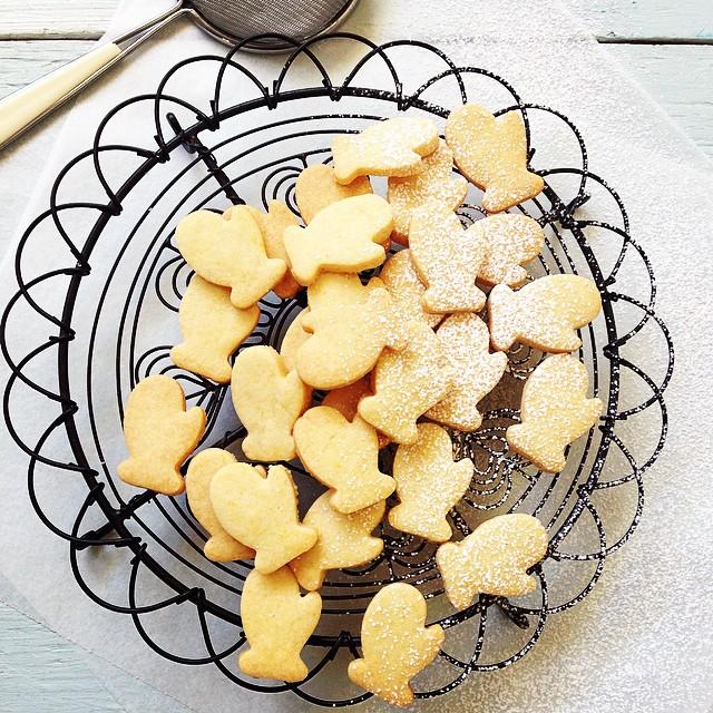 Winter Shortbread Cookies