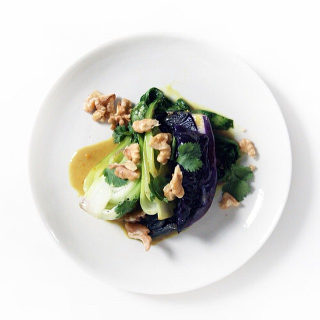 Braised Bok Choy And Cabbage