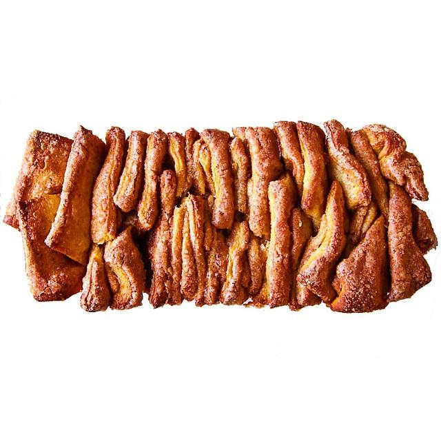 Brown Butter Cinnamon Sugar Pull-apart Bread