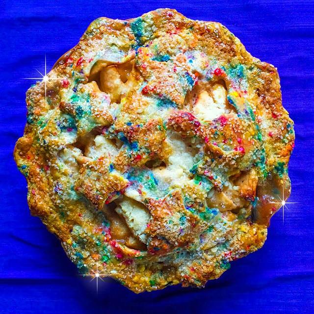Buttery Funfetti Pie Crust