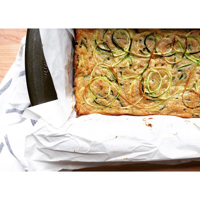 Zucchini Bread With Zoodles