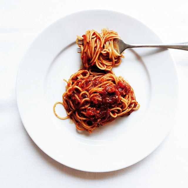 Spaghetti All'arrabbiatta